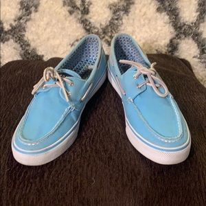 🔥Light blue Sperry topsiders super cute size 9M🔥